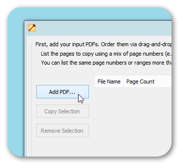 Add PDF Documents